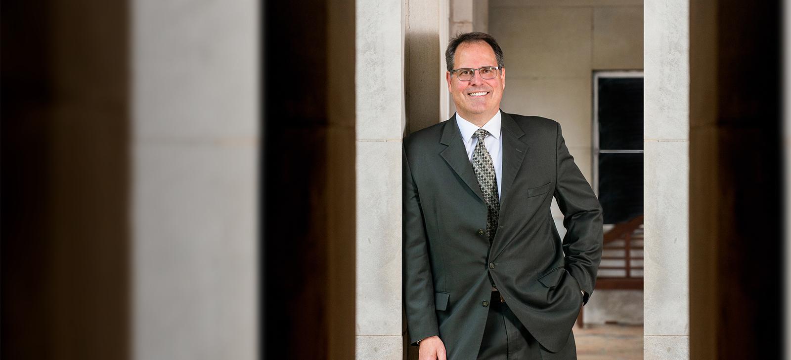 Dr. Mark Rudin, president of Texas A&M University-Commerce.