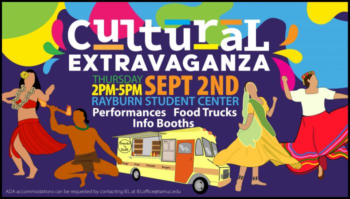 Cultural Extravaganza flyer