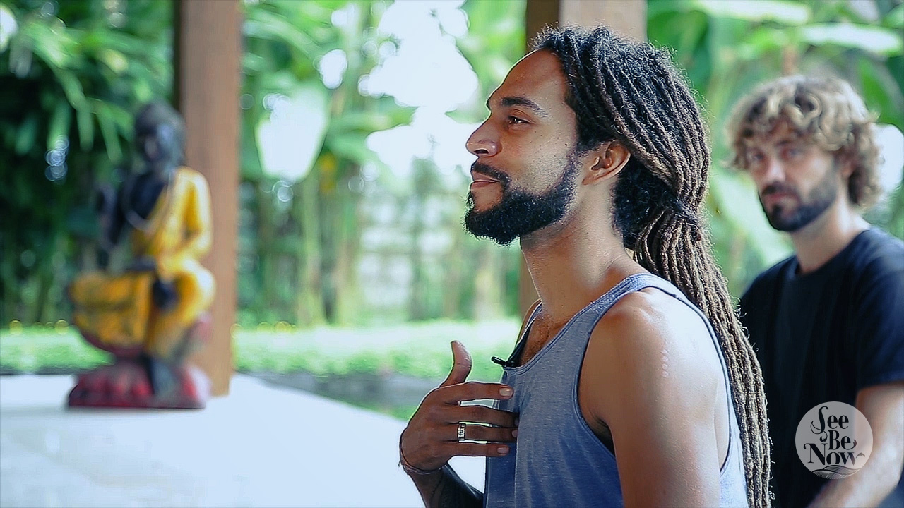 "Feelin' the Flow in Carlos' ""Devotion in Motion"" Yoga Video Immersion"
