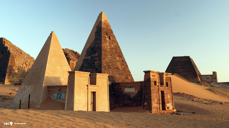 Breathtaking Drone Footage Of Sudan's Forgotten Nubian Pyramids