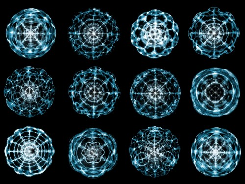 A Visual Meditation on Cymatics