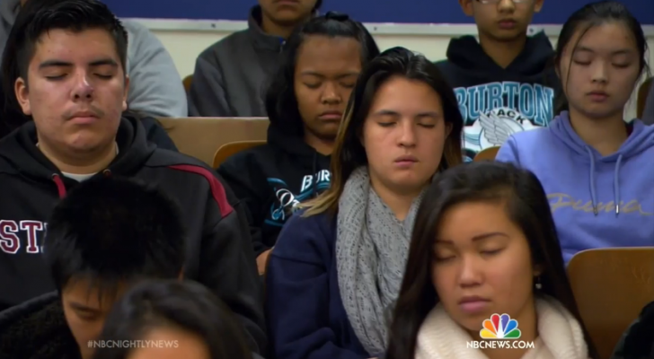 Something Remarkable Happened After These Troubled Grade School Students Were Taught Meditation