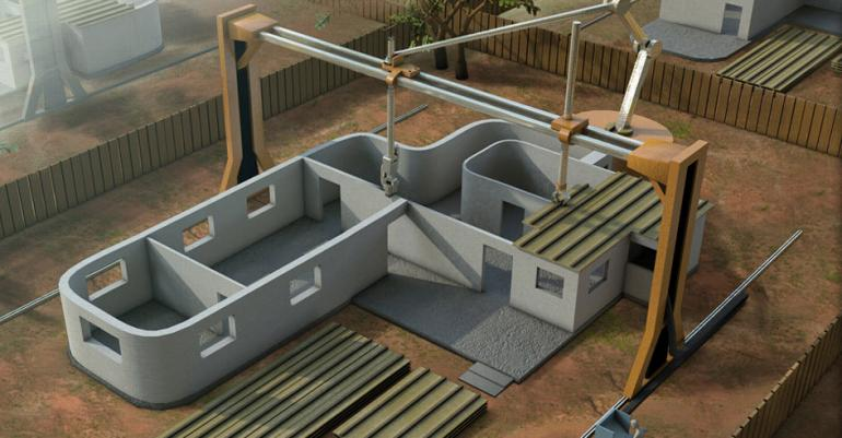 Scientists Develop Giant 3D Printer That Can Build A House In 24 Hours