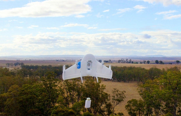 Commercial Drone Race- Google Delivery Drones Fly 5 Miles in 5 Minutes