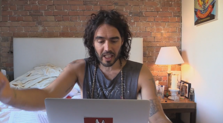 In 2 Minutes Russell Brand Gives The Solutions To Terrorism: It's Time To Wake Up