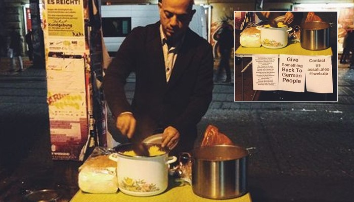 "Syrian Refugee Cooking For German Homeless To ""Give Something Back"""