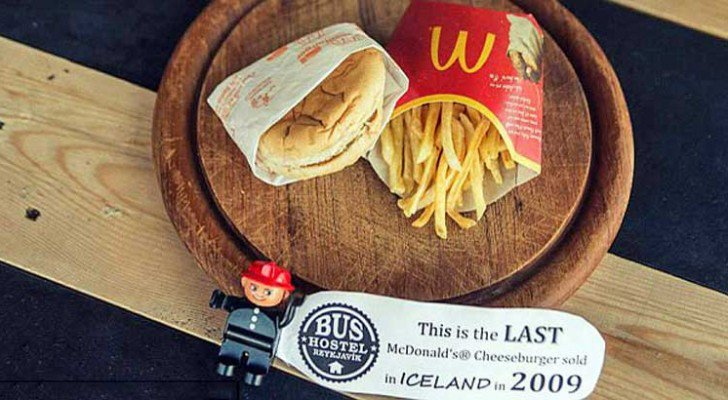 Iceland Did Something Clever With The Last McDonald's Meal They Ever Sold