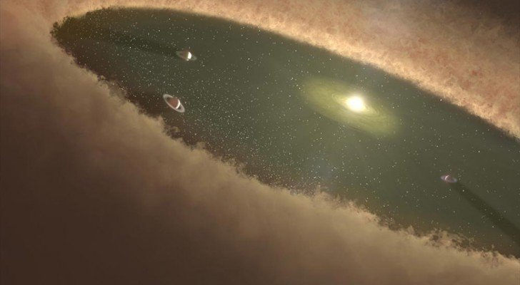 Watch Scientists Observe A Planet Forming For The First Time In Human History