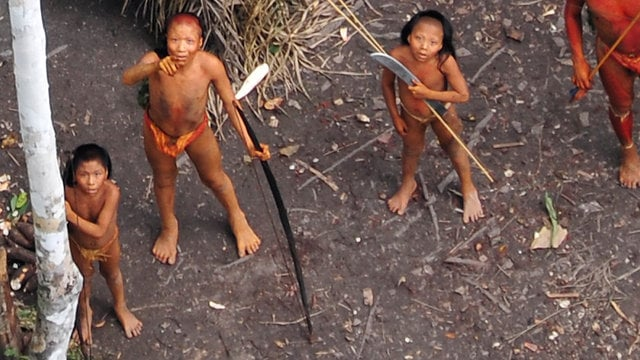 First Ever Aerial Footage of Uncontacted Amazon Tribe