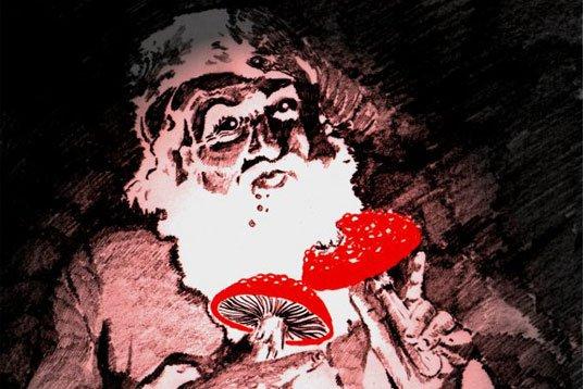 Did Magic Mushrooms Send Santa & His Reindeer 'Flying'? Investigating Pre-Christian Santa Folklore