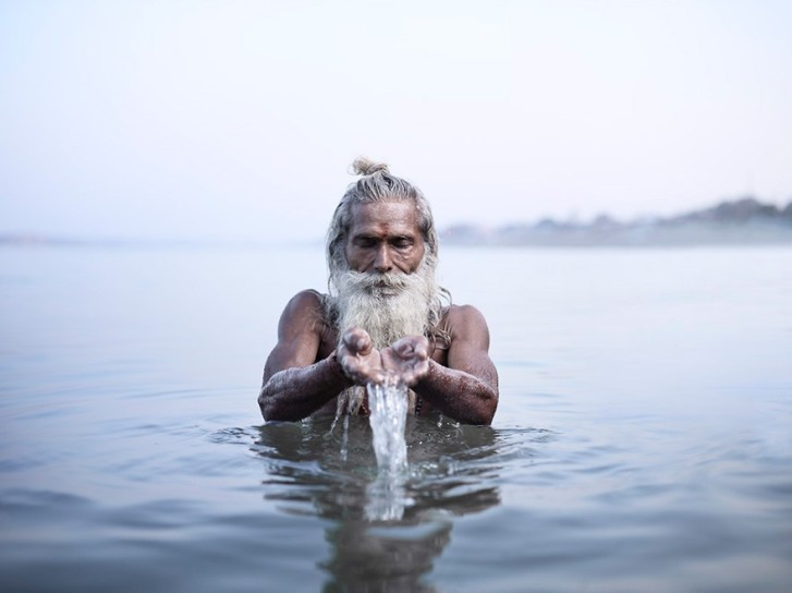 Stunning Photos of India's Holy Men