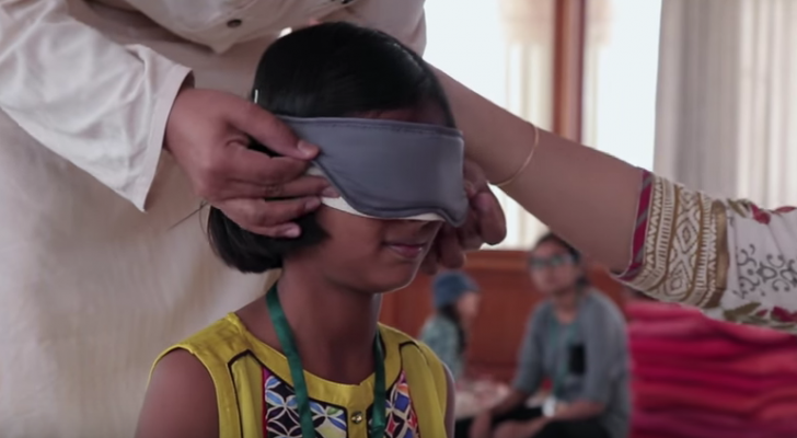 See Why & How This School Teaches Kids To See With Their Eyes Closed