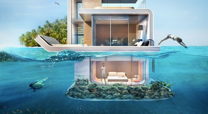 Dubai Is Set To Unveil These Spectacular Floating Apartments With Underwater Rooms