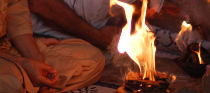 Agni Hotra; The Sanskrit Mantra