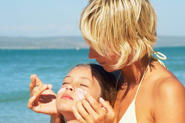 """""""Excuse Me While I Lather My Child In This Toxic Death Cream."""" (Sunscreen)"""