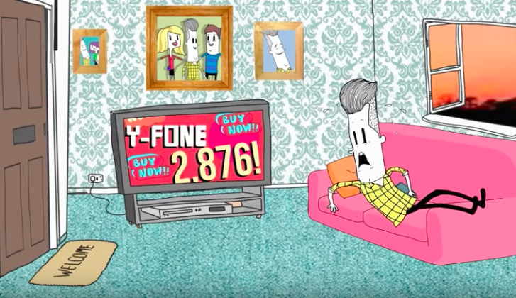 Fit In, Go To School, Get A Job & Buy Things: The Madness Of Our World Illustrated In Another Animated Video