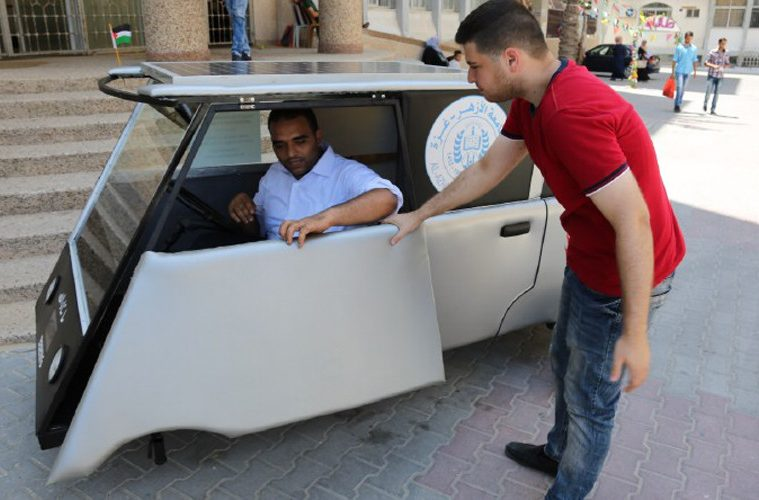 Palestinian Students Build A Solar Car To Beat Israeli Fuel Blockade (VIDEO)
