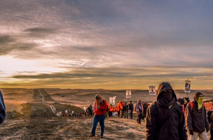 "Standing Rock Camp Being Sprayed With ""Chemical Agents"" By Low Flying Aircrafts At Night"