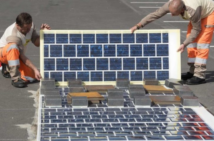 World's First Solar Panel Road Now Open in France