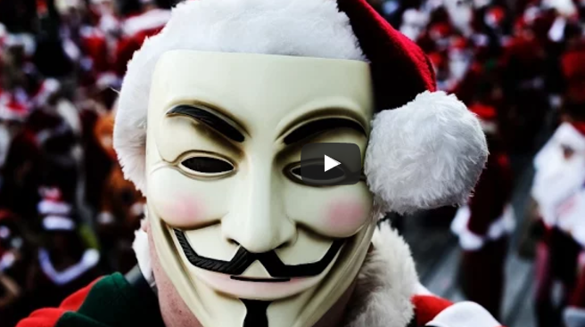 Anonymous Releases A Powerful Holiday Message To Humanity – 2017 Is Going To Be Exciting