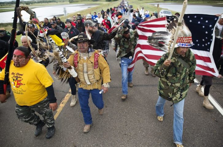 Over 2,000 U.S. Veterans To Form Human Shield At Dakota Pipeline Site