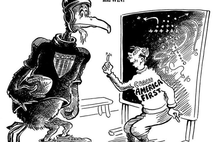These Controversial Political Cartoons By Dr. Seuss Are Still Relevant Today