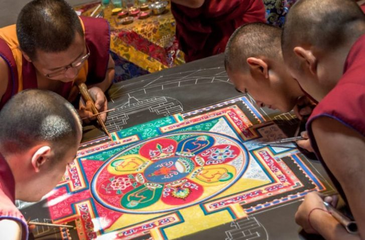 Why Do Tibetan Monks Wash Away The Mandalas They Create?