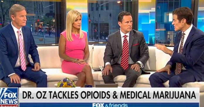 'Wow!': Dr. Oz Makes FOX News Anchors' Heads Explode as He Drops Cannabis Truth on LIVE TV