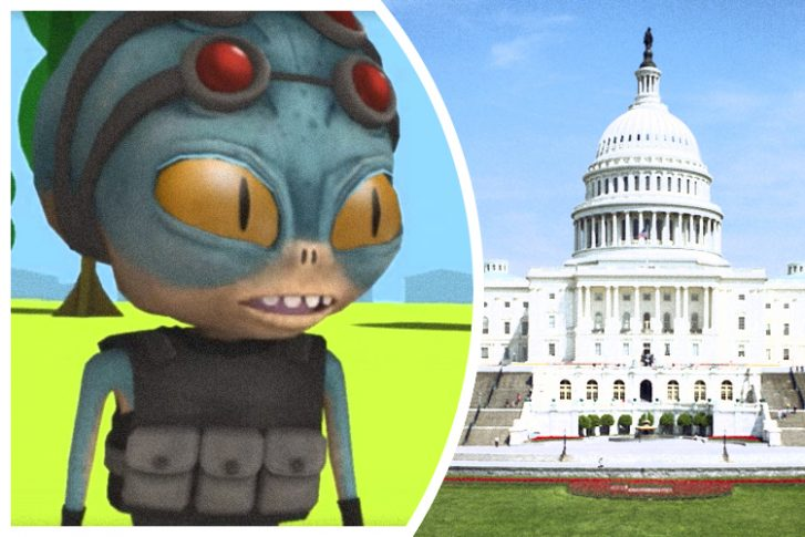 Government as Explained by a Fictional Conversation with an Extra-Terrestrial