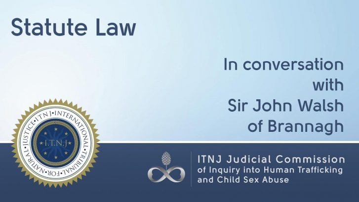 Statute Law – Sir John Walsh of Brannagh
