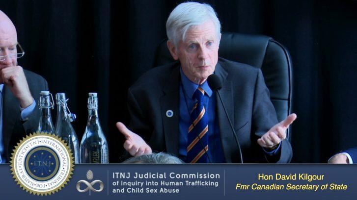 Hon. David Kilgour Testifies on His Investigation into Falun Gong 'Live' Organ Harvesting (ITNJ Seating)