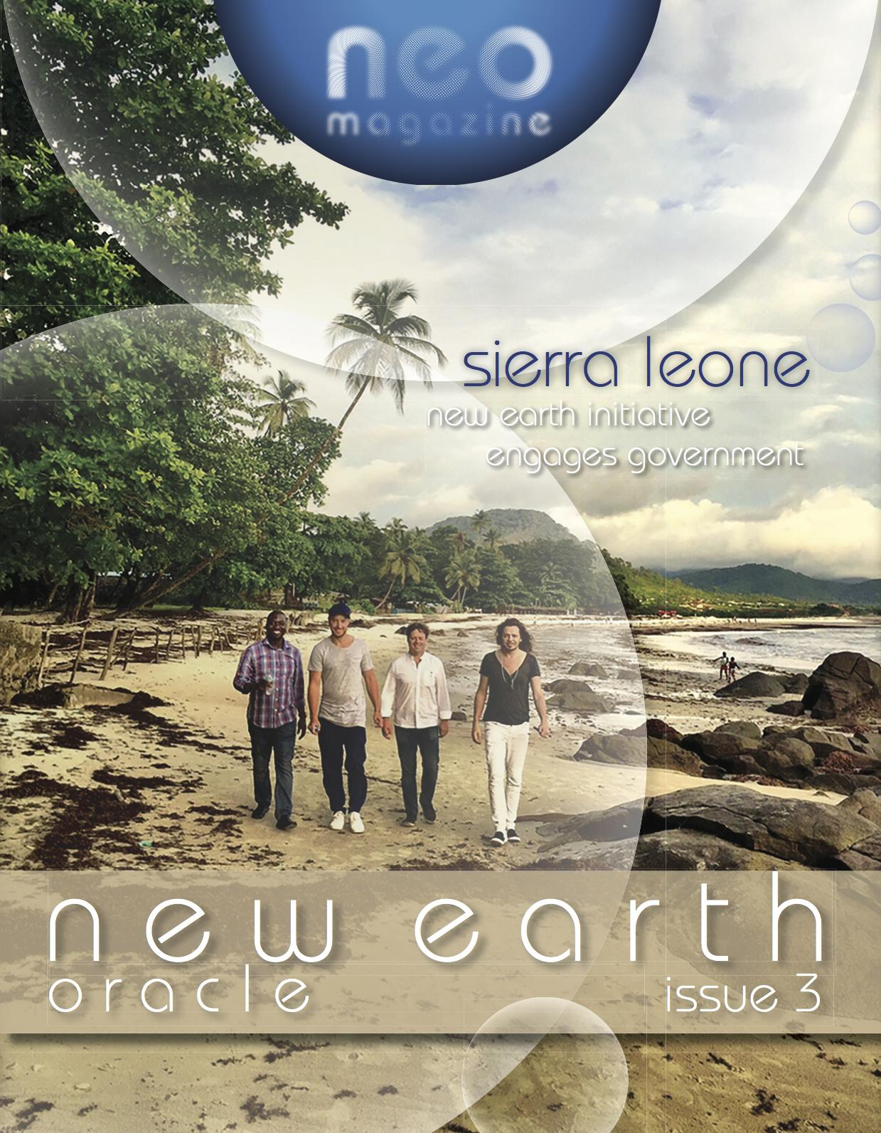 new earth oracle (neo) magazine issue # 3