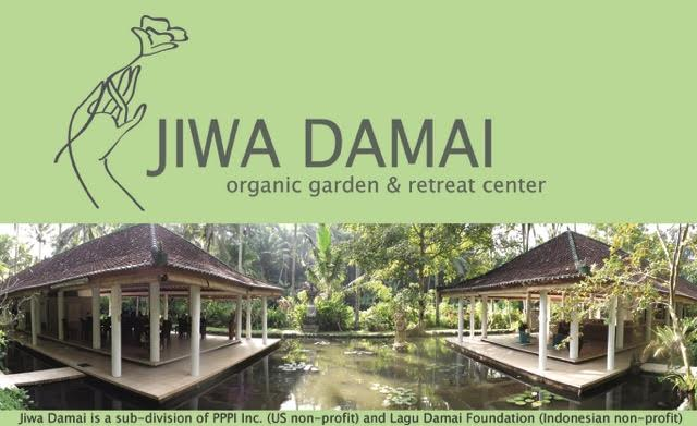 jiwa damai organic permaculture garden retreat center, bali