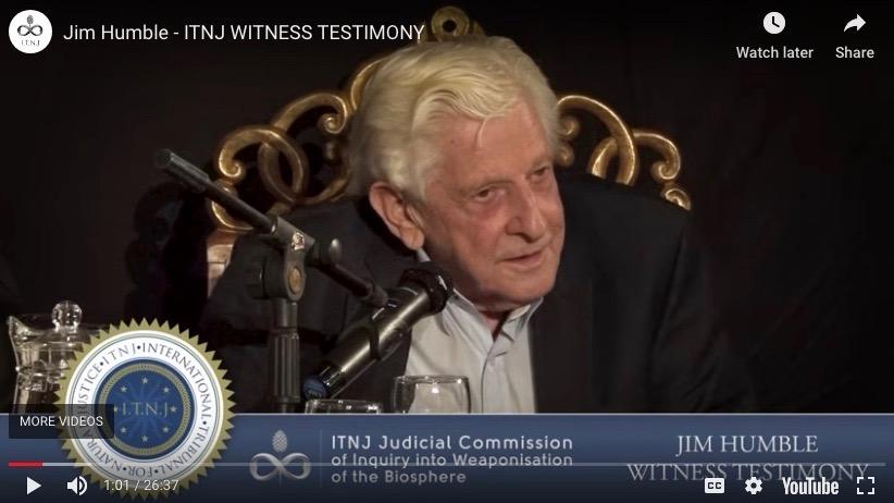 big pharma vs people – ITNJ testimony from jim humble