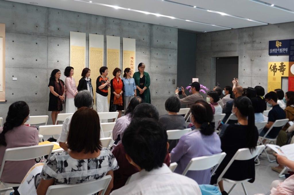 崇友雅集書法聯展開幕儀式,備受矚目。
