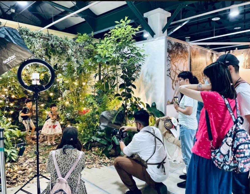 將大自然景象帶入室內,是台灣旅遊的一大賣點。