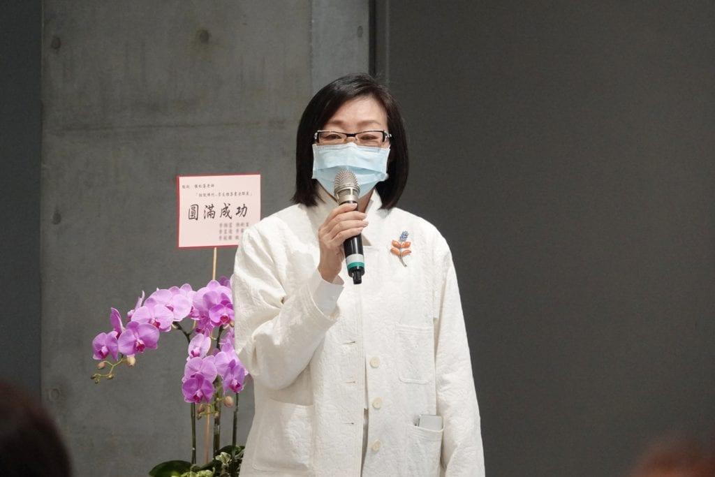 大唐生活美學館館長也是崇友文教基金會執行長的唐秋鈴,對文化藝術活動的支持始終不遺餘力。
