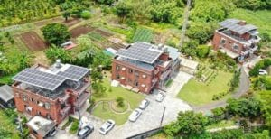 淡水忠寮社區合作推動屋頂型太陽光電 (新北市智慧綠能社區合作社提供)