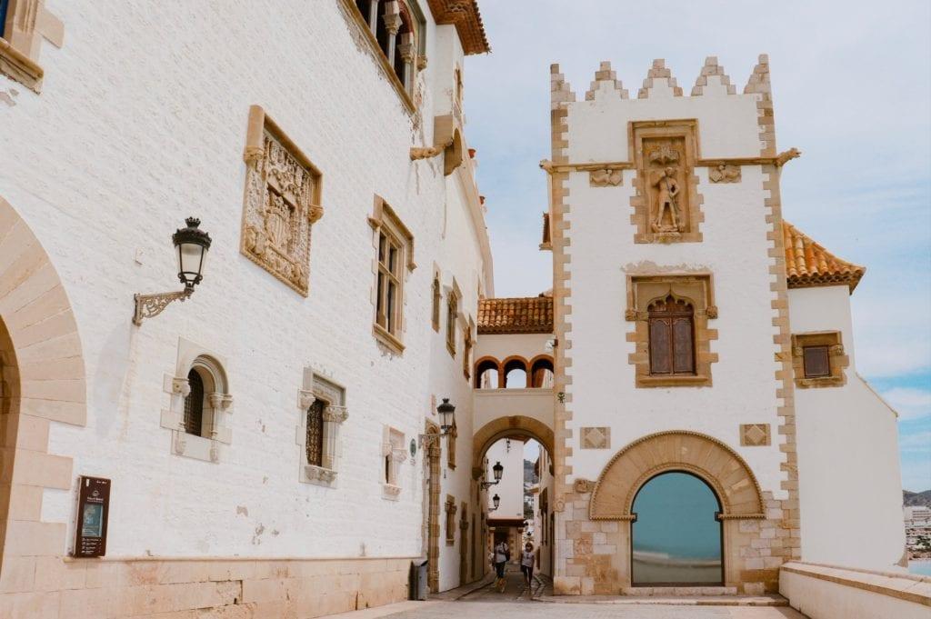 ^錫切斯博物館(Museu de Sitges)外觀
