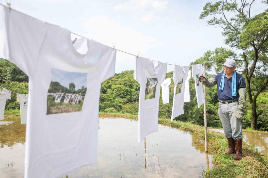 推動農業創生,讓遊客能夠更深度體驗水梯田之美,蕭學苑策畫「貢寮雞母嶺水T藝術節」。