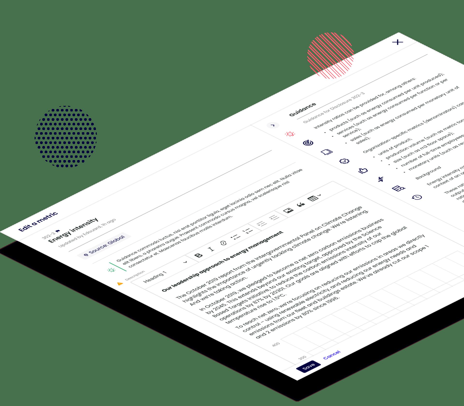 Novisto ESG frameworks and surveys