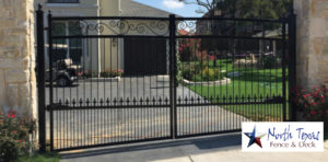 metal wrought iron automatic gates