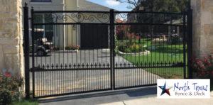 metal wrought iron automatic gates