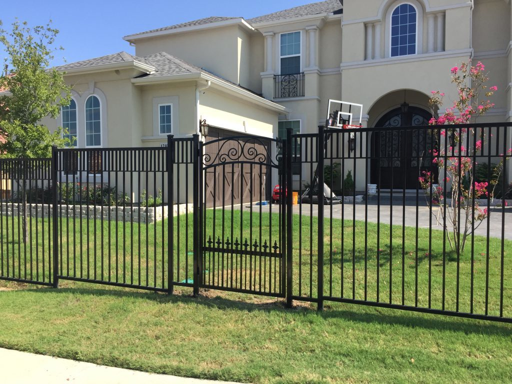 Plano Texas Metal Fences and Gates