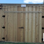 Plano Texas Wooden Privacy Fence with Gate