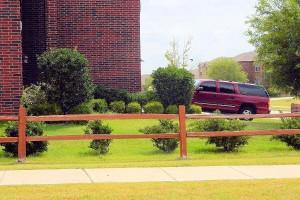 split rail fence Wylie Texas