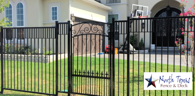 Plano Texas Metal Fences and Gates: Wrought Iron, Aluminum