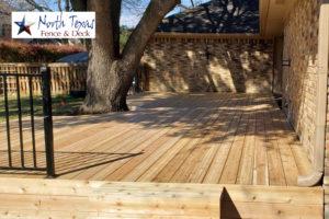 deck builder Plano TX