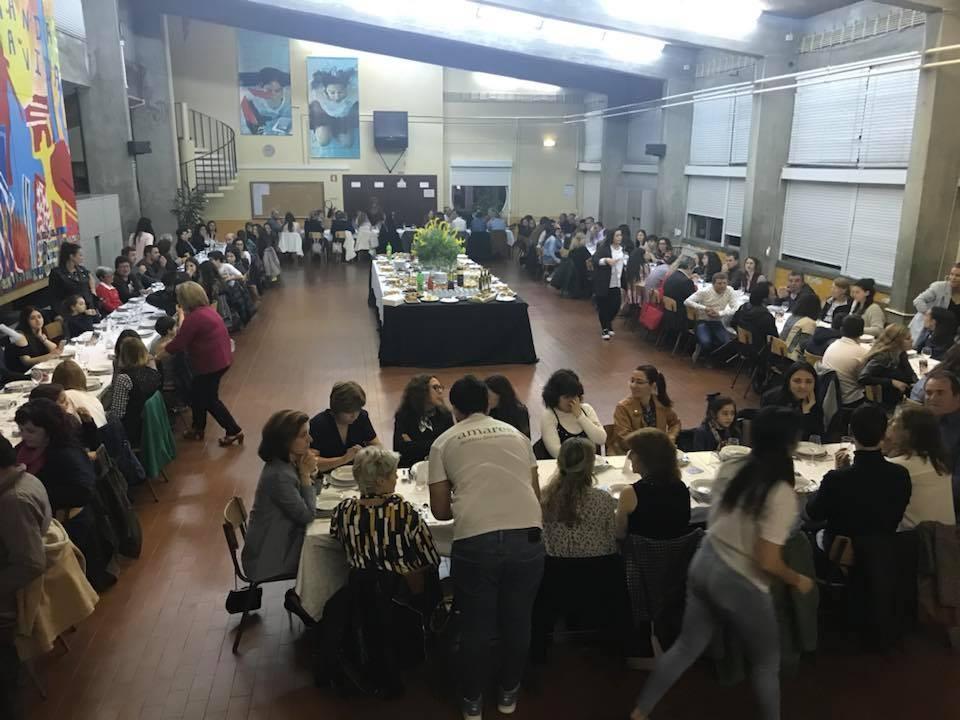 MISSÃO AMAR(ES)Jantar solidário contou com centena e meia de participantes