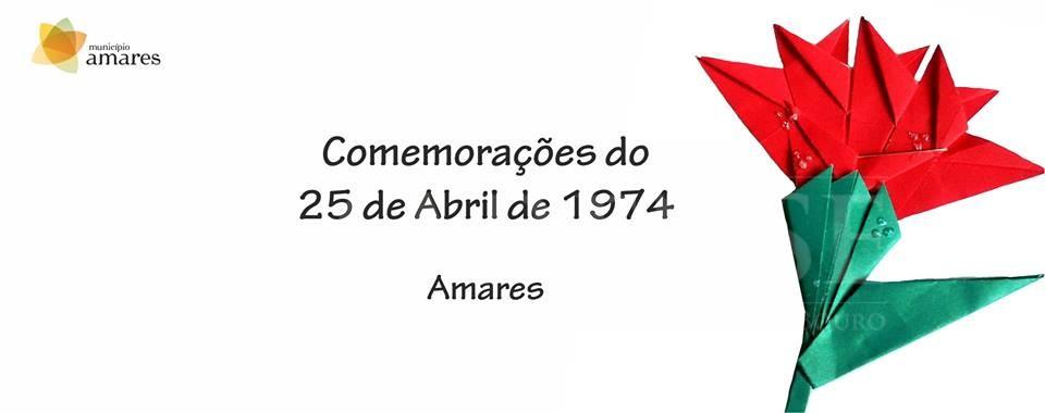 25 DE ABRILAmares comemora aniversário da Revolução na quarta-feira